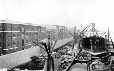 West India Docks 1920