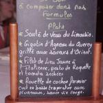 la petite tonnelle menu