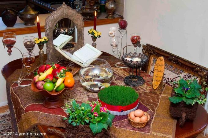 Nowruz and Haft Sin