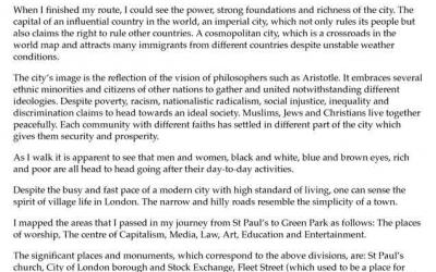 London Diversity: A Loose Traverse Experienced   NOVEMBER 2013