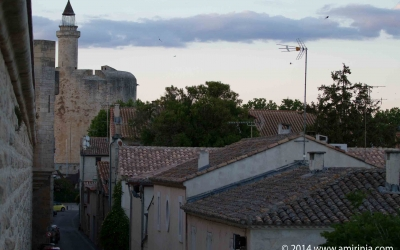 The tower of Constance in the medieval city of Aigues-Mortes