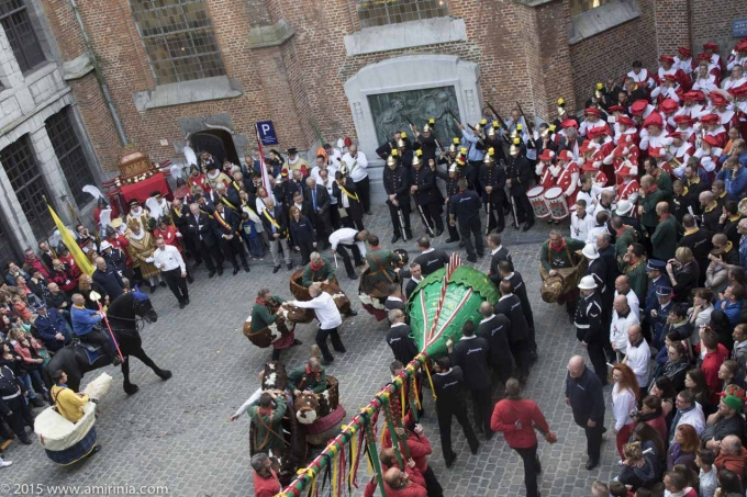 Doudou: An exclusive rehearsal of the battle of St George and the Dragon