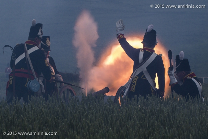 At the Waterloo re-enactment