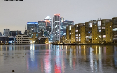 Canary Wharf (Winter 2010)