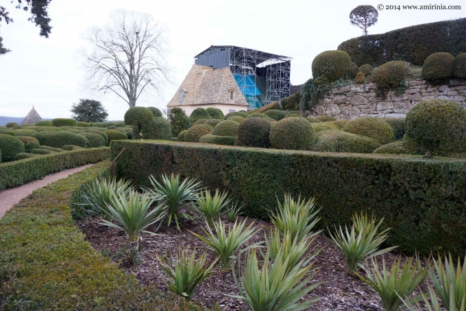 Les jardines suspendus de Marqueyssac
