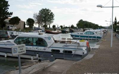 Nicols boats at Port de  Bellegarde