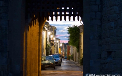 The medieval city of Aigues-Mortes