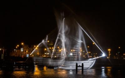 Amsterdam Light Festival - the Ghost Ship