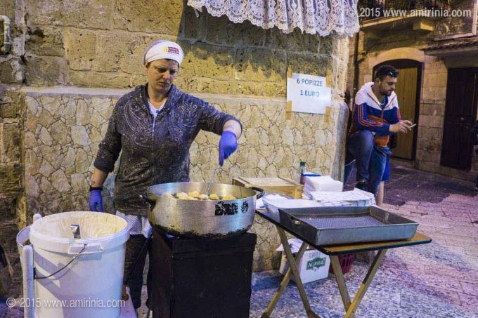 Enjoying Bari cuisine
