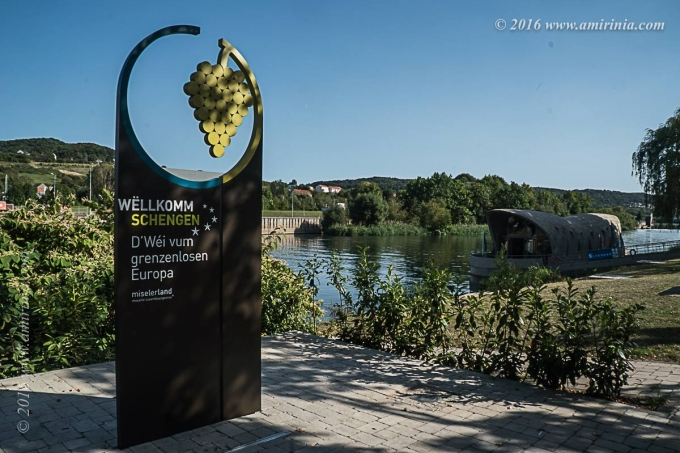 Travelling through Luxembourg