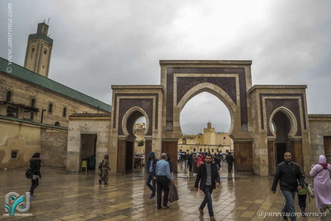 Exploring the Old Medina in Fez, Morocco