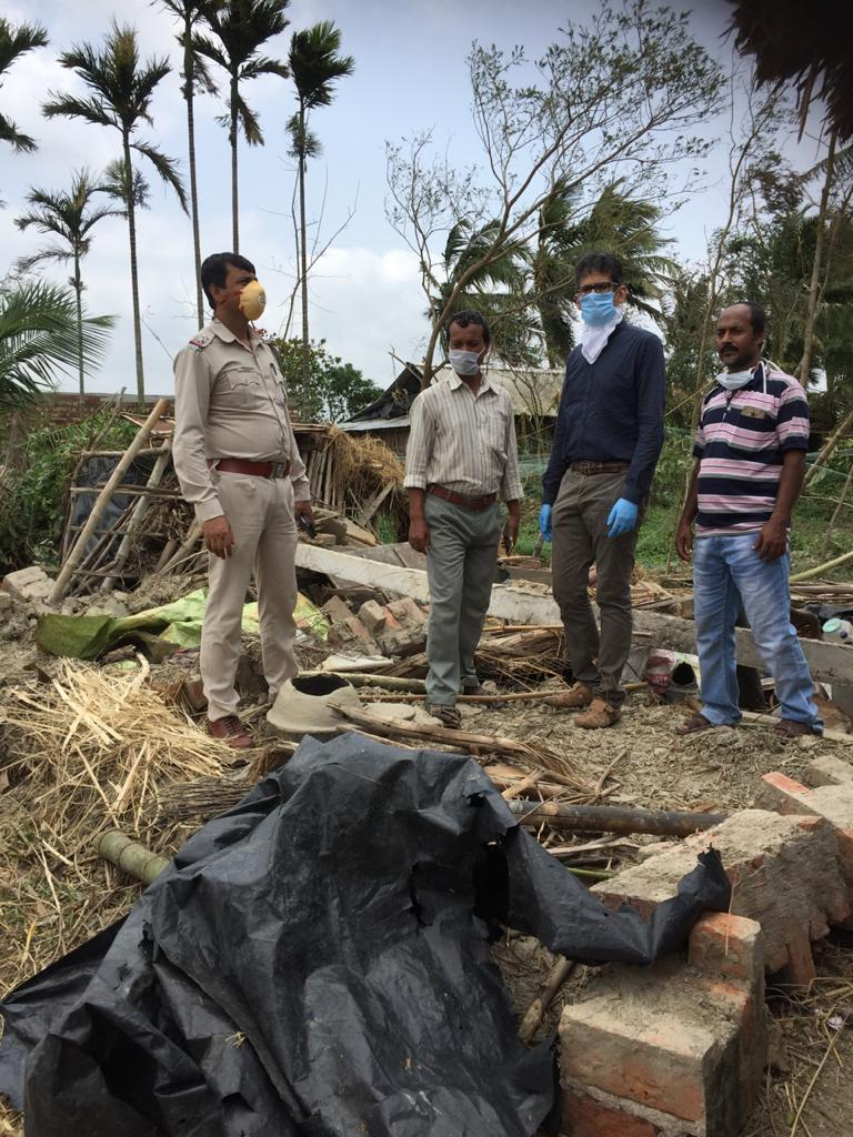KOLKATA DIARY – The Effect of Cyclone in Sandarbans